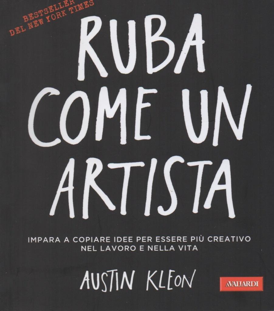 copertina Ruba come un artista