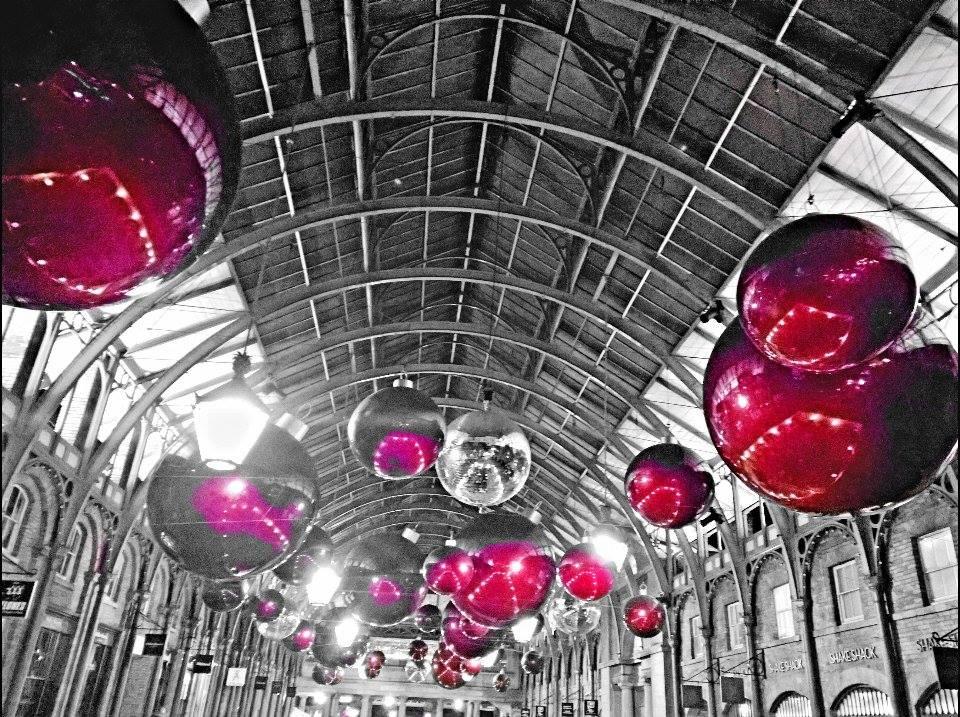 Decorazioni natalizie a Covent Garden