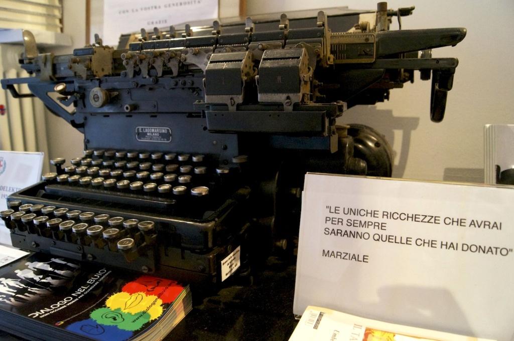 museo della macchina da scrivere milano