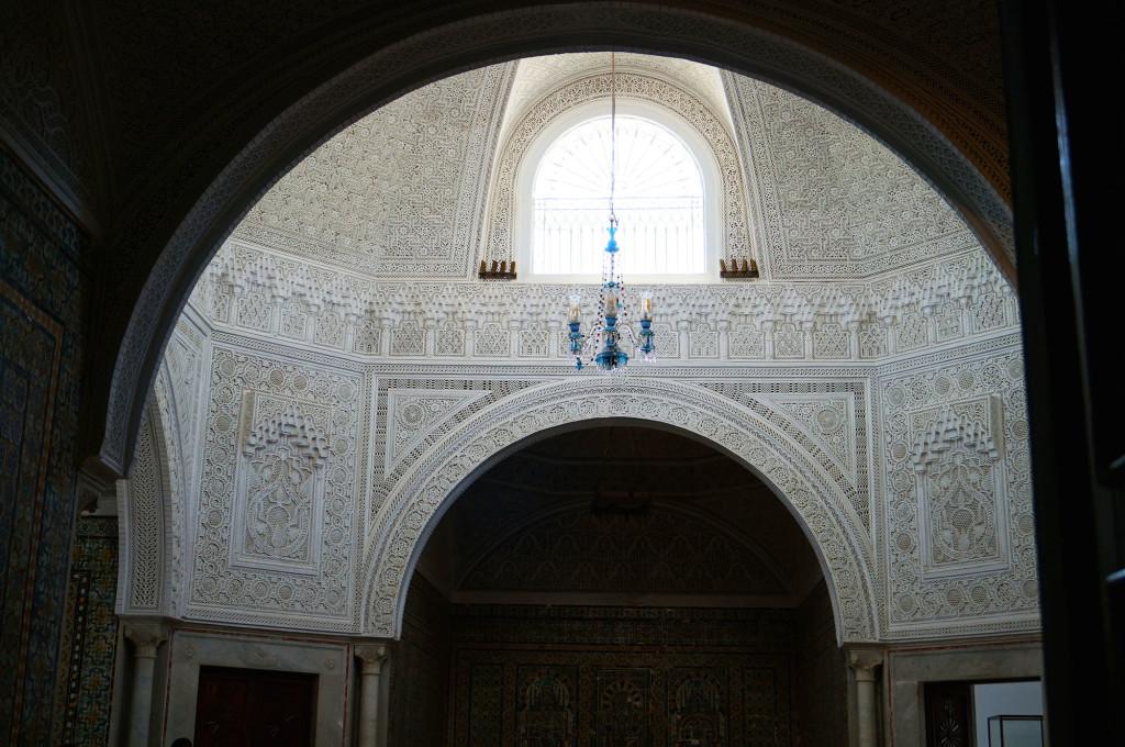 particolare soffitto Museo del Bardo