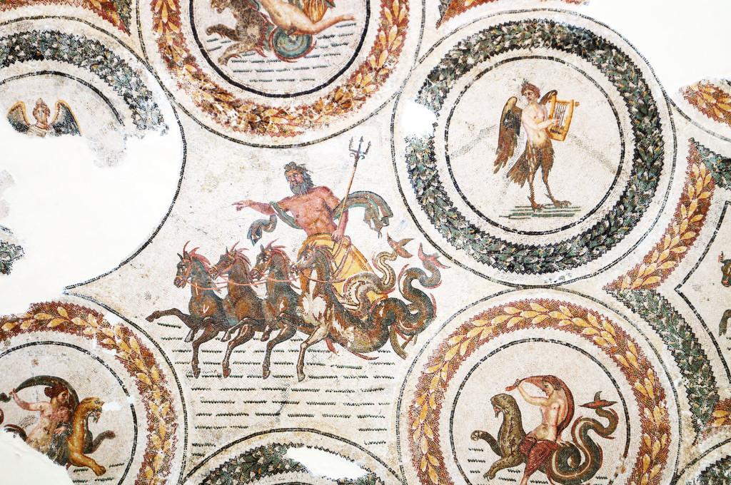 Trionfo di Nettuno al Museo del Bardo