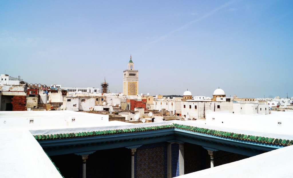 Vista dei tetti della Medina