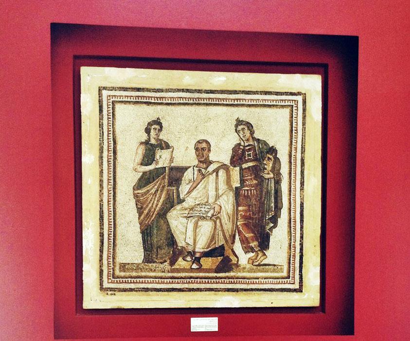 Mosaico di Virgilio