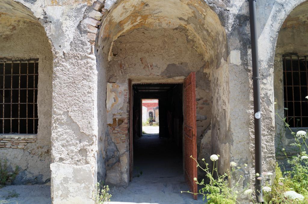 L'interno del penitenziario di Santo Stefano