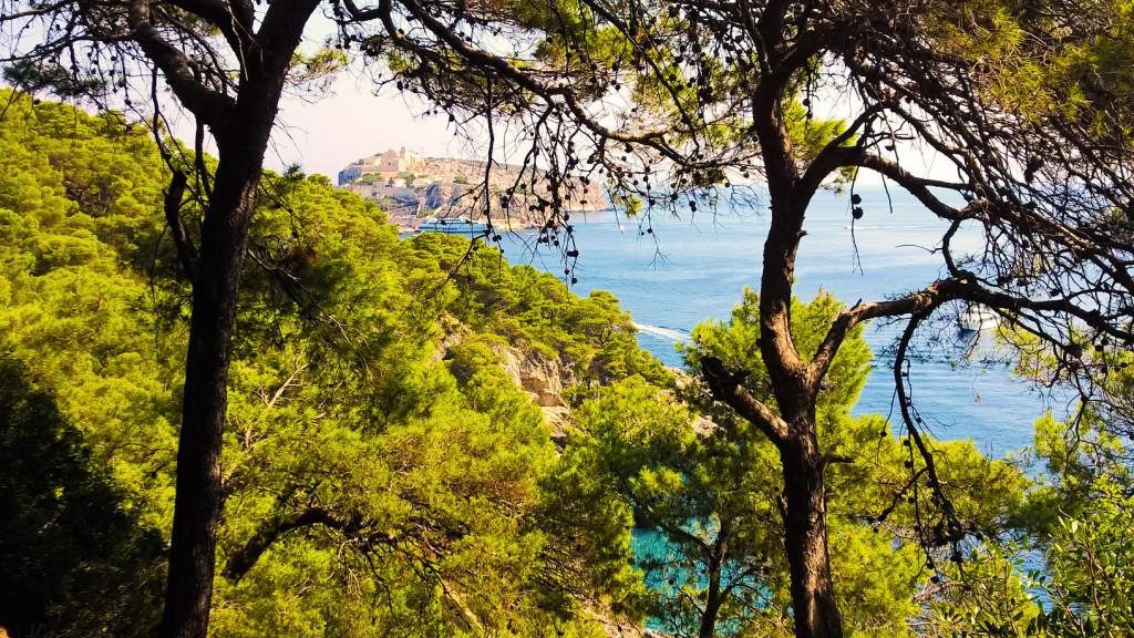 Isole Tremiti vista di San Nicola