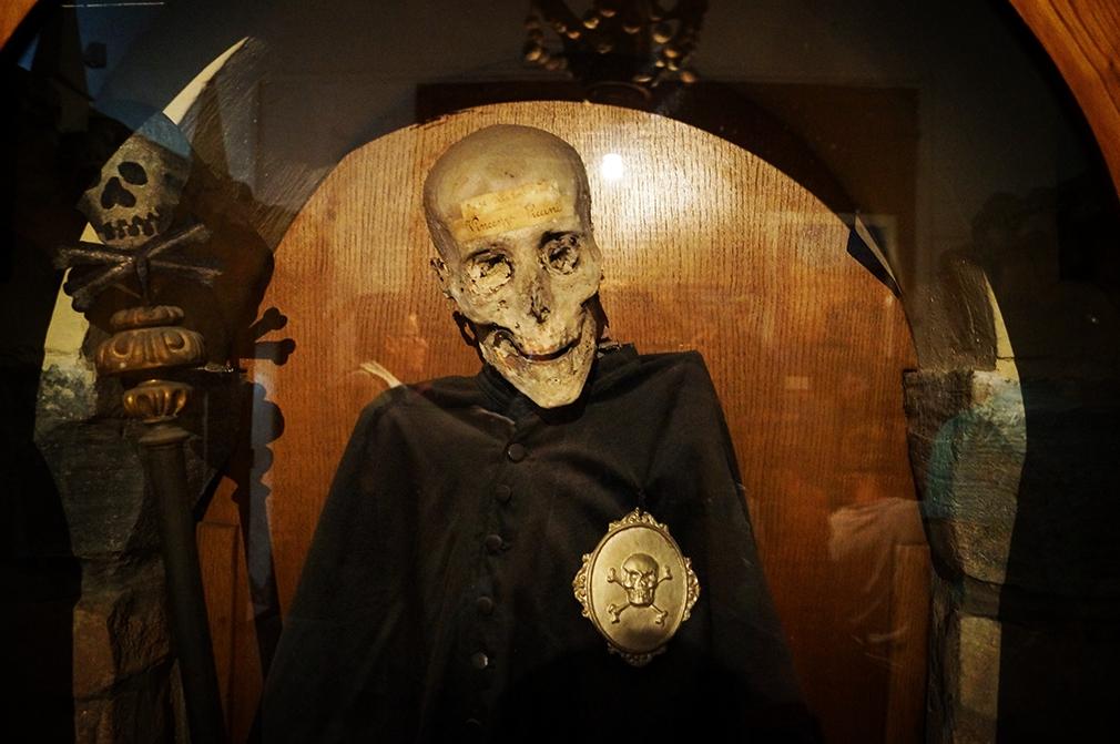 Il Priore della Confraternita della Buona Morte Vincenzo Piccini
