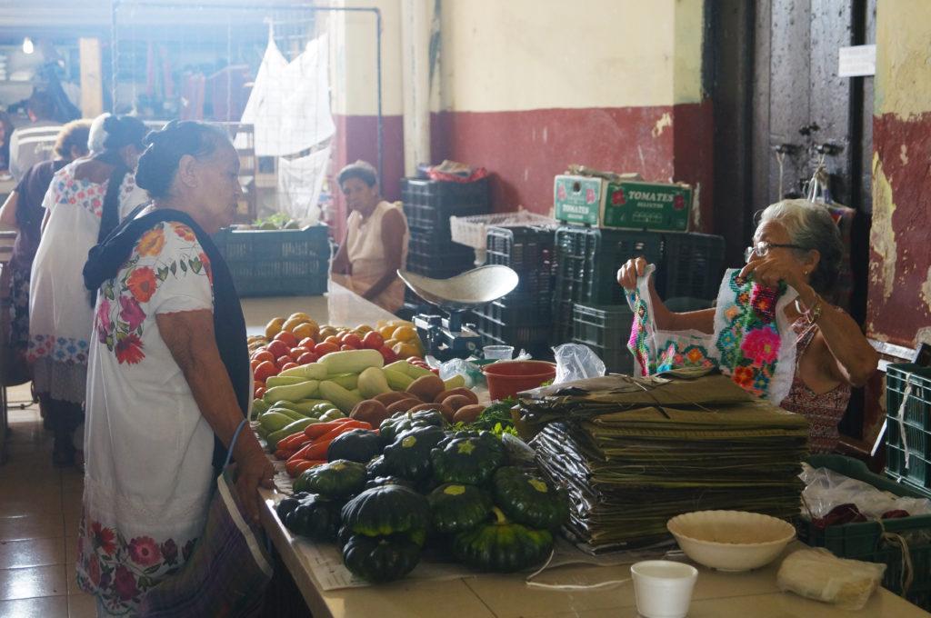 Il mercato coperto di Umàn