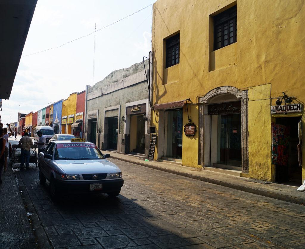 Una strada di Mérida
