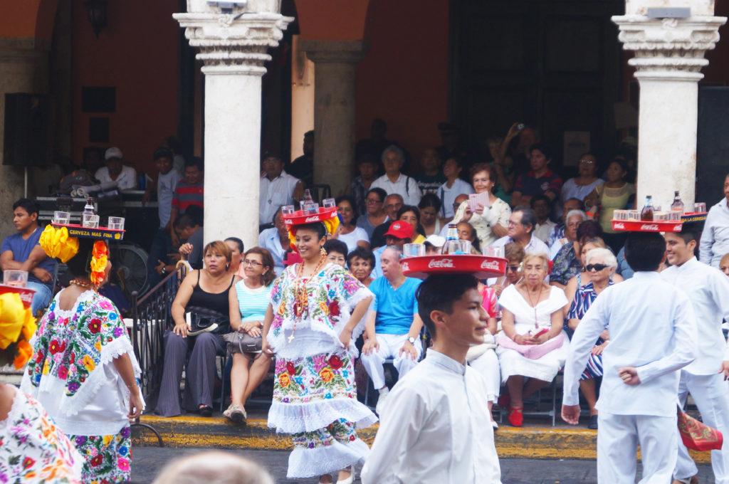 Festa della domenica a Mérida