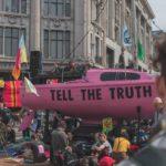 foto di una manifestazione